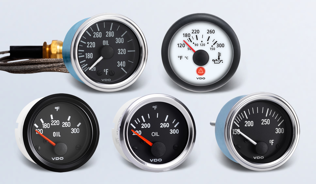 oil temperature by type instruments vdo instruments Electric Oil Pressure Gauge Wiring VDO Oil Pressure Gauge Electric Wiring