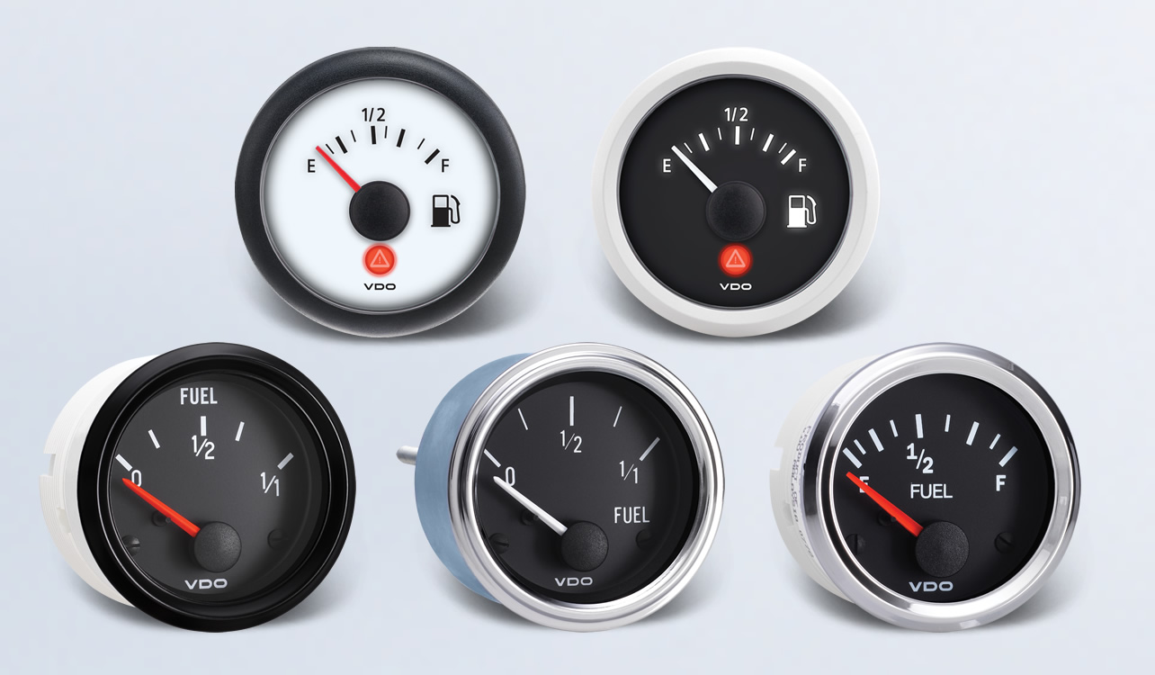 Fuel By Type Instruments Displays And Clusters Vdo Gauge Installation Instructions Accessories