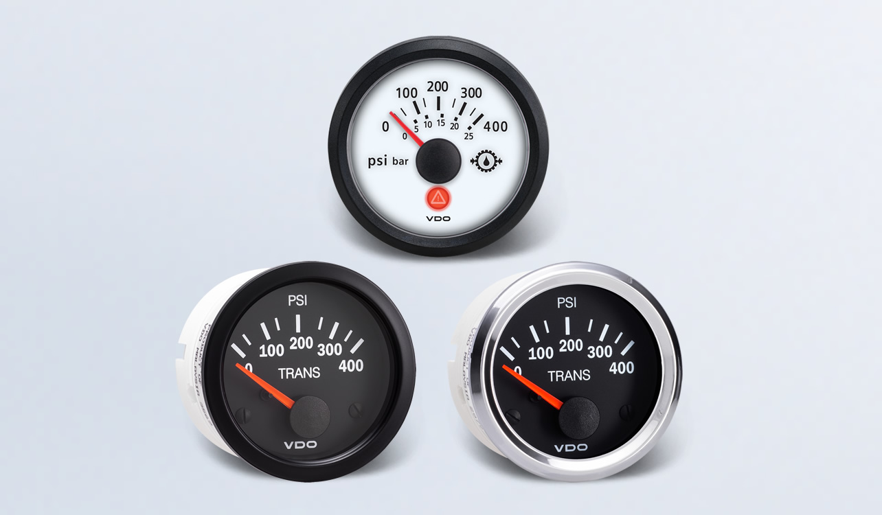 Transmission-Gear Pressure | By Type | Instruments, Displays