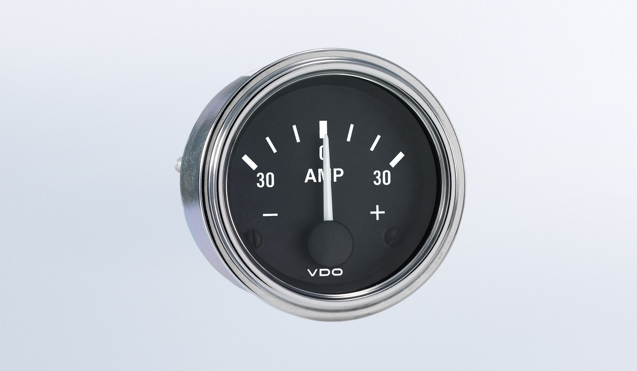 Series 1 30a Ammeter  Does Not Require External Shunt