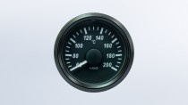 SingleViu  52mm 200°C cylinder temperature gauge. OEM packaging