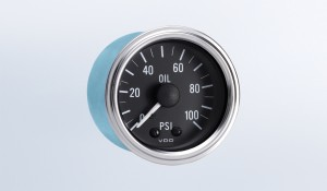 Series 1 100 PSI Mechanical Oil Pressure Gauge