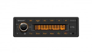 Continental Radio AM/FM Radio with USB/2x AUX/2x BT input 12V. CAN J1939 Connectivity  OEM Box