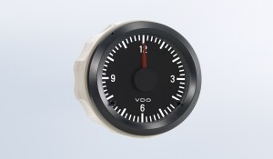 Cockpit International Analog Clock, 12V