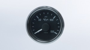 SingleViu  52mm 150psi oil pressure gauge.