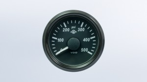 SingleViu  52mm 500psi gear pressure gauge