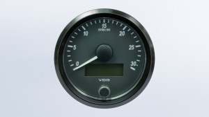 SingleViu  80mm 3000RPM tachometer.Retail pack with harness
