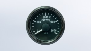 SingleViu  52mm 2000°F exhaust gas temperature gauge.   OEM packaging