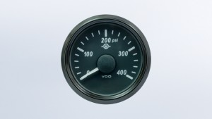 SingleViu  52mm 400°F cylinder temperature gauge.